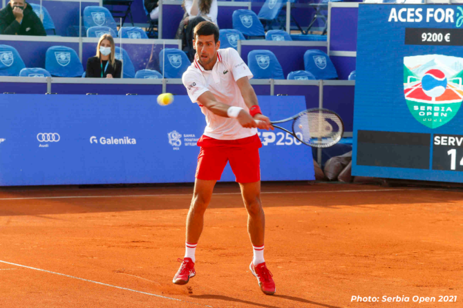 "Galenika Proud Sponsor of the Tennis Tournament ""Serbia Open 2021"""